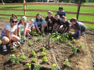 Building the Organic Garden  at Newtown Elementary