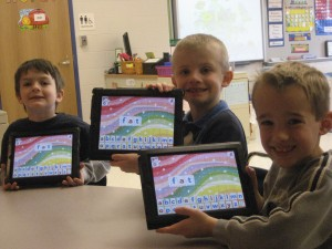 Learning to read with a 21st Century Literacy grant at Churchville Elementary