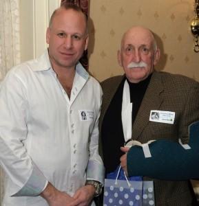 Crop Rob Blass and Superintendent Dave Blatt