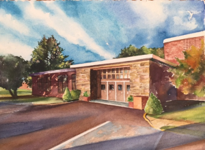 Only 100 limited edition, numbered watercolor prints (giclee), signed by Kathy Sekula will be available for purchase. Proceeds go to fund innovative programs for Council Rock students.